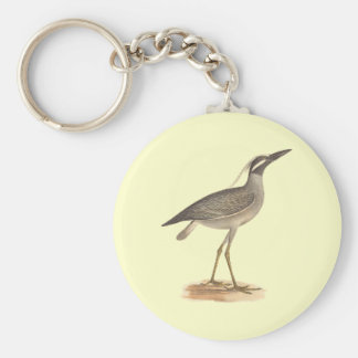 The Yellow-crowned Night Heron(Ardea violacea) Keychain