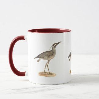 The Yellow-crowned Night Heron(Ardea violacea) Mug