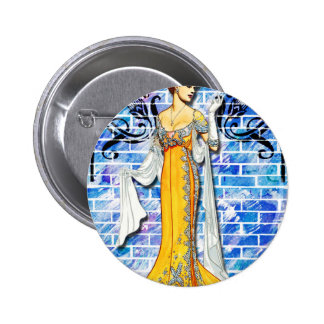 THE YELLOW GOWN BUTTON