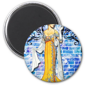THE YELLOW GOWN MAGNET