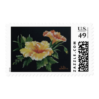 The Yellow Hibiscus Postage