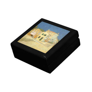 The Yellow House by Vincent van Gogh Jewelry Box