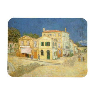 The Yellow House by Vincent van Gogh Magnet