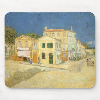 The Yellow House by Vincent van Gogh Mouse Pad