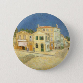 The Yellow House by Vincent van Gogh Pinback Button