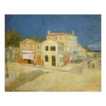 The Yellow House by Vincent van Gogh Poster