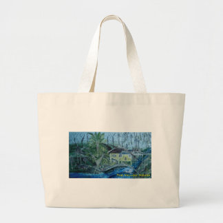 the yellow house canvas bag
