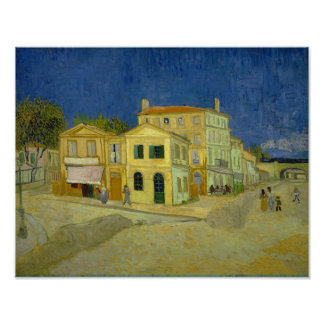 The Yellow House (F464) Van Gogh Fine Art Poster