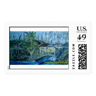 the yellow house postage