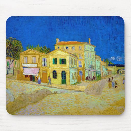 The Yellow House, Van Gogh Mouse Pad