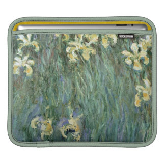 The Yellow Irises (oil on canvas) iPad Sleeves