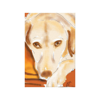 The Yellow Lab Canvas Print