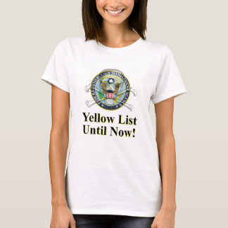 The Yellow List T-Shirt