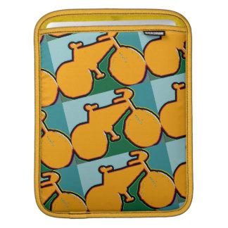 the yellow pop bike sleeve for iPads