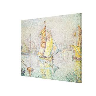 The Yellow Sail, Venice, 1904 Canvas Print