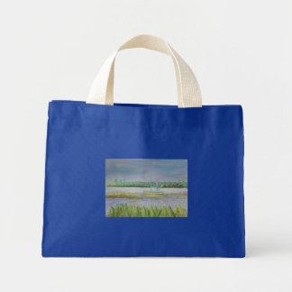 THE YELLOW SAILBOAT Tote Bag