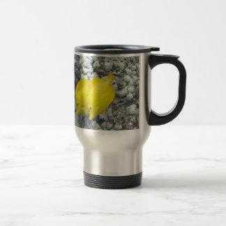 The Yellow Tang Fish Travel Mug