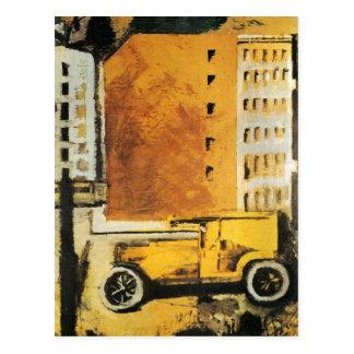 The Yellow Truck Postcard