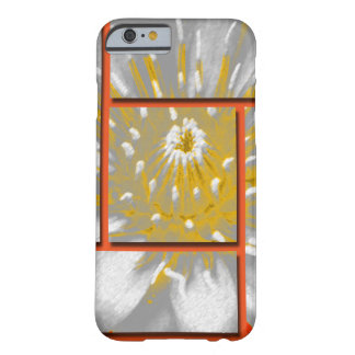 The Yellow Water Lily Square Pattern Design Barely There iPhone 6 Case