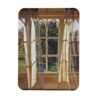 The yellow window 2013 rectangular photo magnet