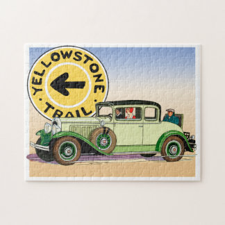 The Yellowstone Trail Jigsaw Puzzle