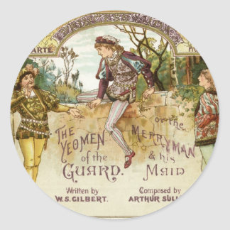 The Yeomen of the Guard Classic Round Sticker
