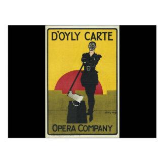The Yeomen of the Guard Opera Postcard