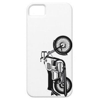 The Yezdi 350 Classic on a ride iPhone SE/5/5s Case