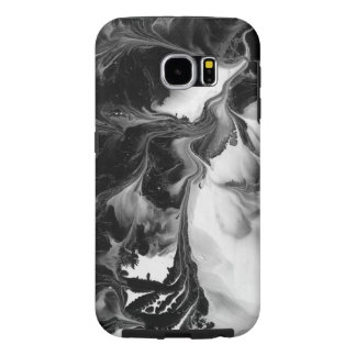 THE YIN AND THE YANG (a Black & White design) ~ Samsung Galaxy S6 Case