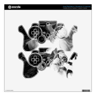THE YIN AND THE YANG (a Black & White design) ~ Skins For PS3 Controllers
