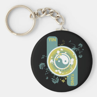 The Yin and the Yang Keychains