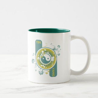 The Yin and the Yang Two-Tone Coffee Mug