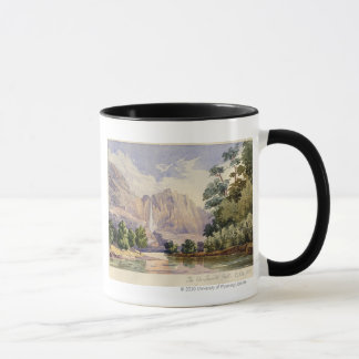 The Yo-Semite Fall. 2,634 ft. Mug