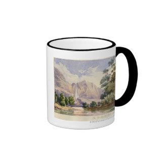 The Yo-Semite Fall. 2,634 ft. Ringer Coffee Mug