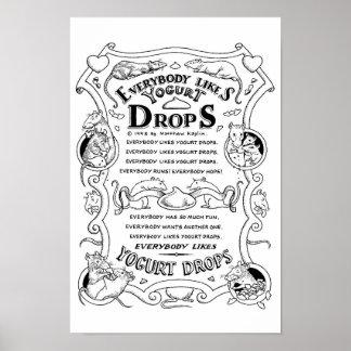 The Yogurt Drop Song Poster