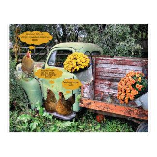 The yolks on you! postcard