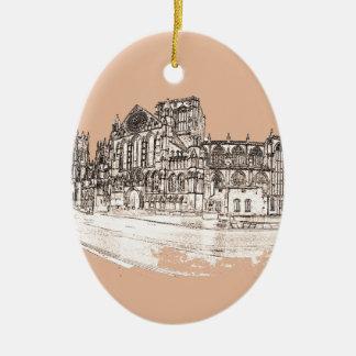 The York Minster Ceramic Ornament