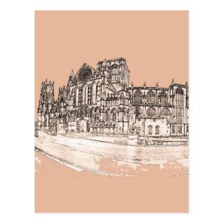 The York Minster Postcard