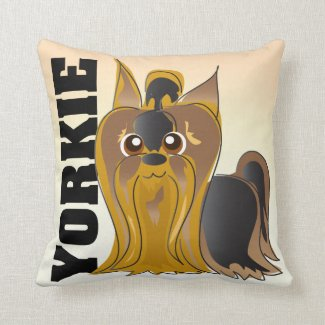 The Yorkie Pillow
