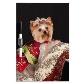 The Yorkie Queen Dry Erase White Board