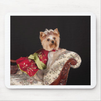 The Yorkie Queen Mouse Pad