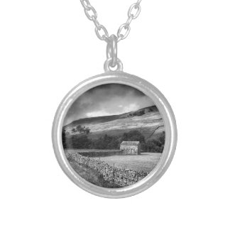 The Yorkshire Dales in mono Necklace