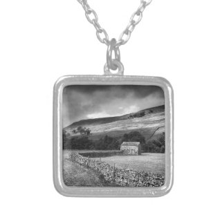 The Yorkshire Dales in mono Pendant
