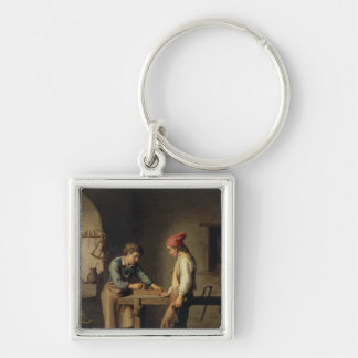 The Young Apprentice, before 1903 Keychain