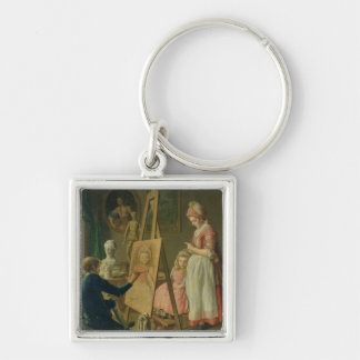 The Young Artist, c.1760 Keychain