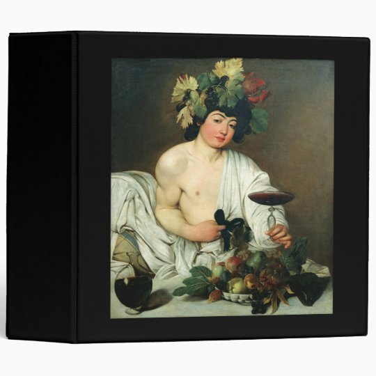 The Young Bacchus, Caravaggio Binder