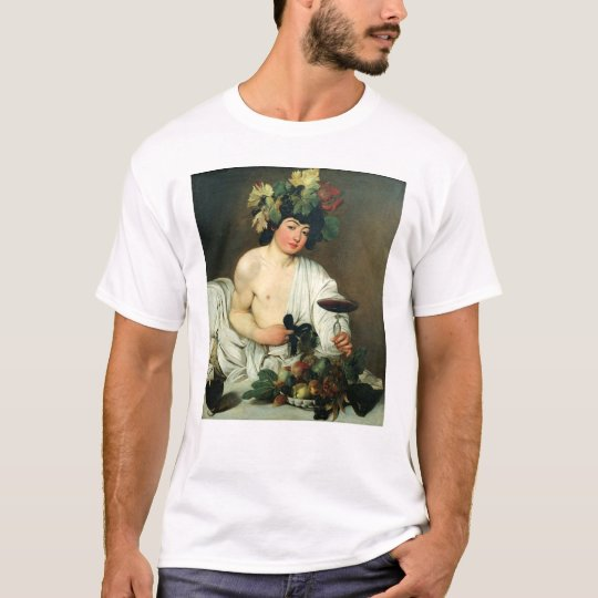 The Young Bacchus, Caravaggio T-Shirt