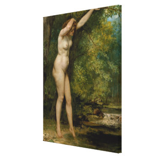 The Young Bather Canvas Print