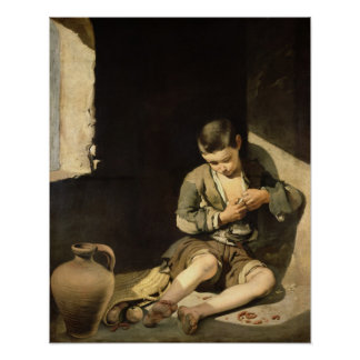 The Young Beggar, c.1650 Poster