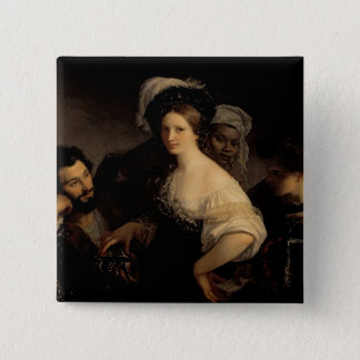 The Young Courtesan, 1821 Button